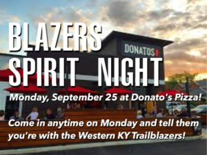 Donatos Spirit Night
