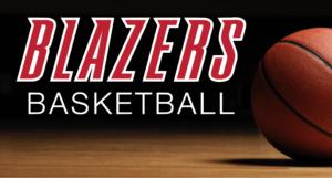 Blazers Basketball Logo 3